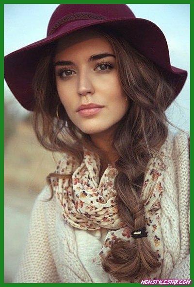 Photo de 20 coiffures d'automne pour les cheveux moyens et longs