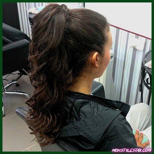 20 coiffures brune chaude