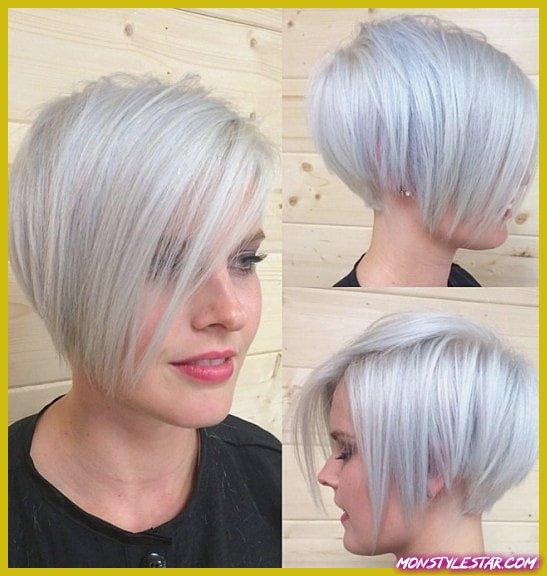 Photo de 15 coiffures courtes flatteurs pour des cheveux fins avec une frange