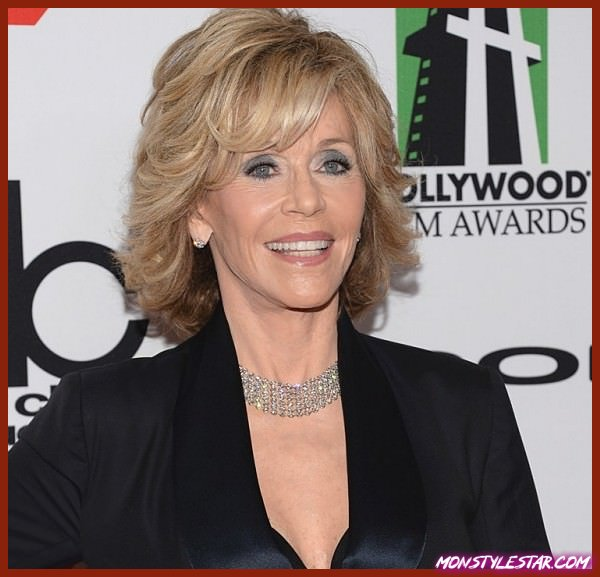 Photo de 15 coiffures spectaculaires de Jane Fonda