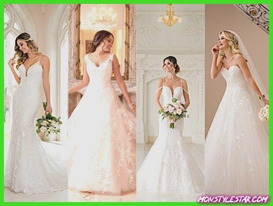 Photo de Des robes de épousée Stella York charme et intemporelles Recueil Arrière-saison 2018