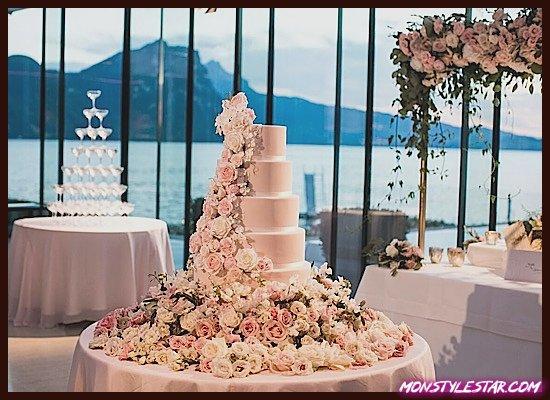 Photo de Mariage de luxe dans une destination florale remplie de fleurs en Suisse