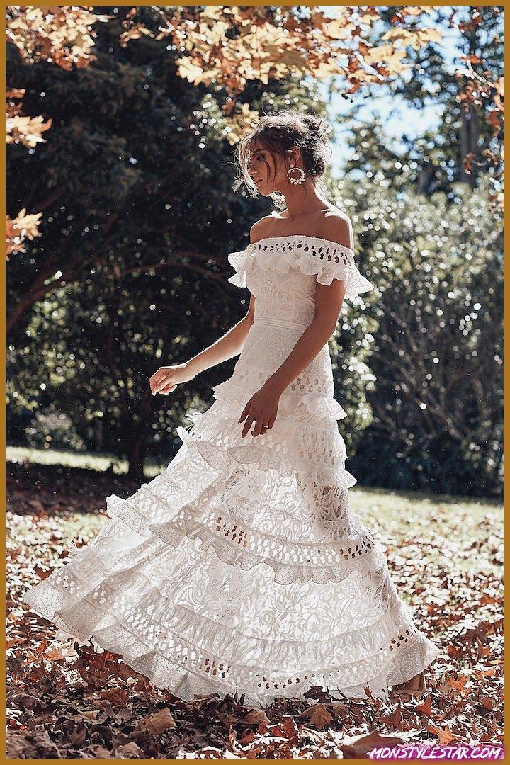 Grace sensationnelle aime la dentelle Collection ICON 2018 pour la mariée moderne