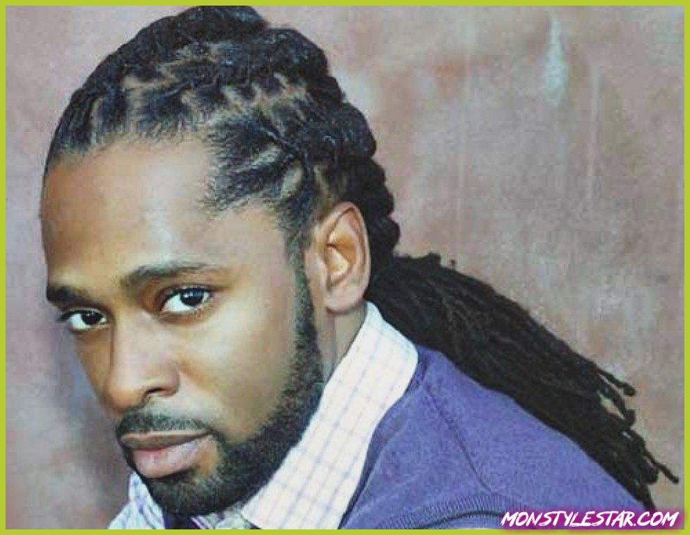 Photo de 15 coiffures longues pour les hommes noirs