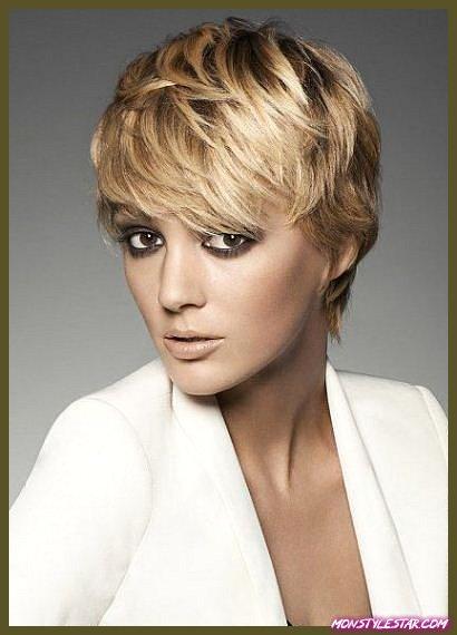 15 différentes coupes de cheveux avec frange Pixie
