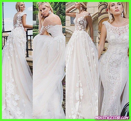 Photo de Robes de mariée Oksana Mukha glamour élégantes