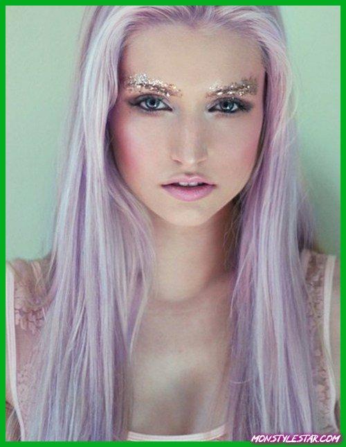 15 idées envers les chevelure parme tableau