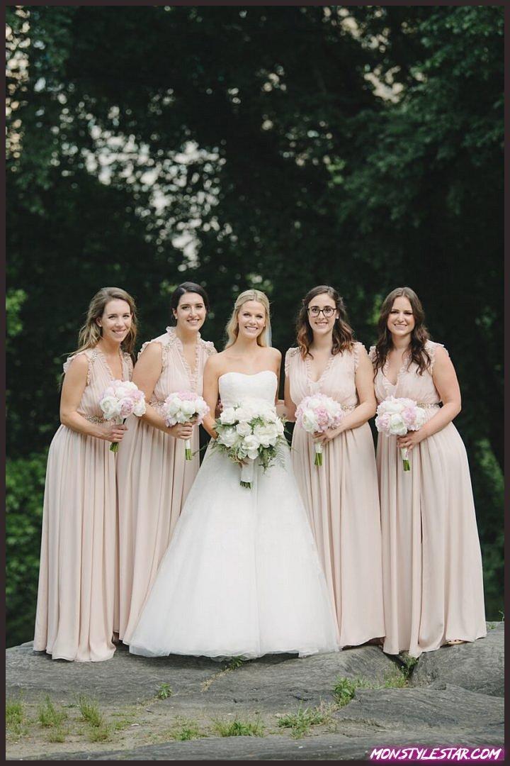 Mariage New York rose et blanc élégant de Brian Hatton Photography