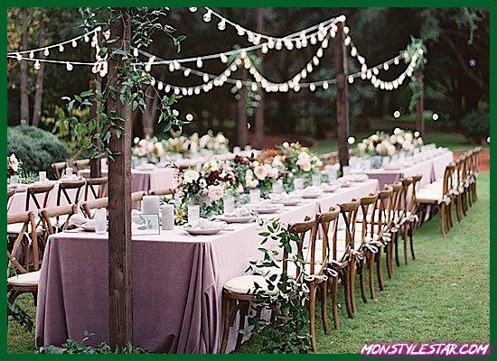 Photo de Mariage d'automne chic et rustique aux jardins Clark de Charla Storey Photography