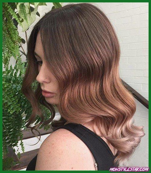 15 idées de couleur de cheveux ombrée inversée