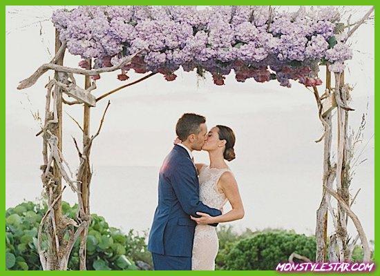 Photo de Mariage romantique de destination blanche aux Bahamas de Hunter Ryan Photo