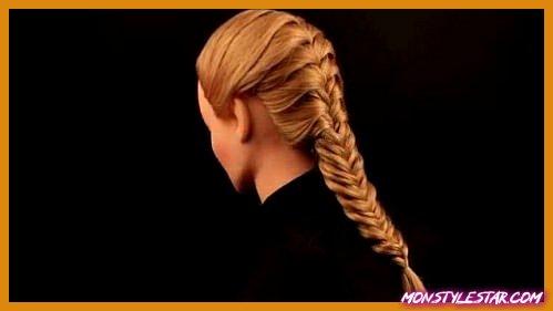 Photo de 15 coiffures décontractées tresse française