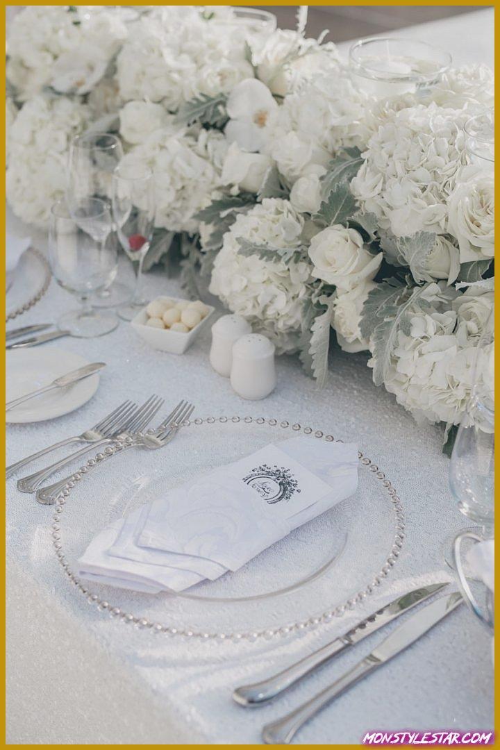 Mariage glamour blanc à Toronto de AGI Studio