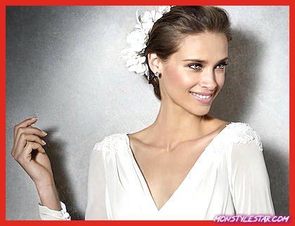 Photo de Robes de mariée modestes avec des détails magnifiques