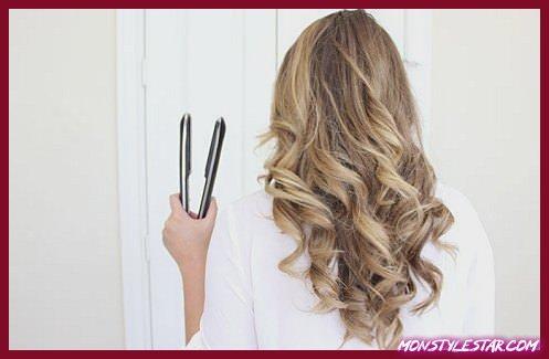 Comment friser les cheveux avec un lisseur?