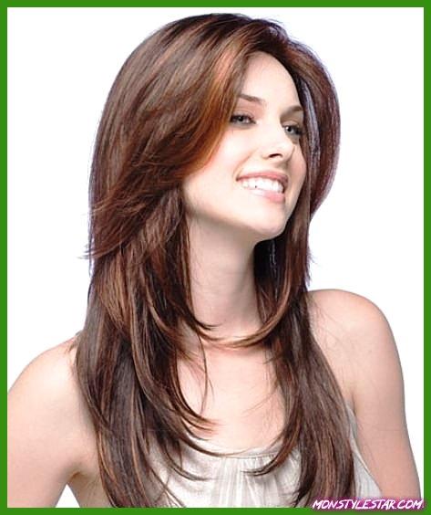 15 charmantes coiffures longues et coupes de cheveux