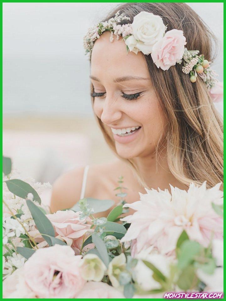 Mariage rose romantique à San Diego de Dixième et Grace Photography