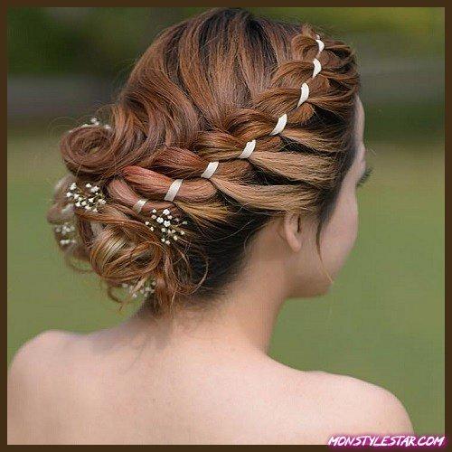 Photo de 15 jolis chignons pour cheveux mi-longs