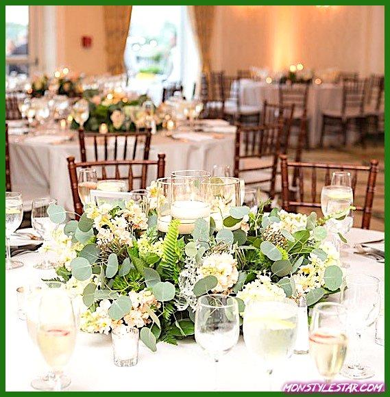 Photo de Mariage New Jersey vert élégant et classique d'Idalia Photography