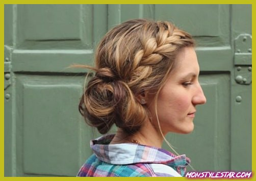 Photo of Updos désordonné pour cheveux longs