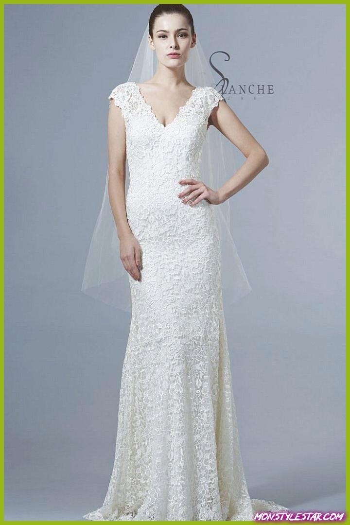 Saison Blanche Robes de mariée avec élégance gracieuse