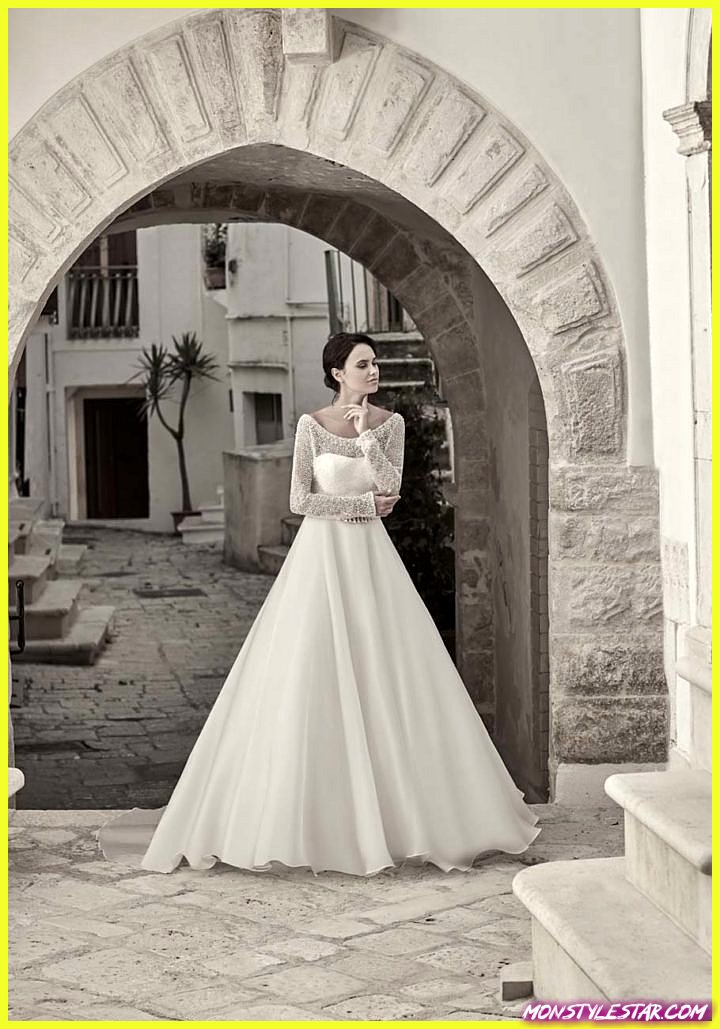 Robes de mariée romantiques Maison Signore de la collection Giovanna Sbiroli