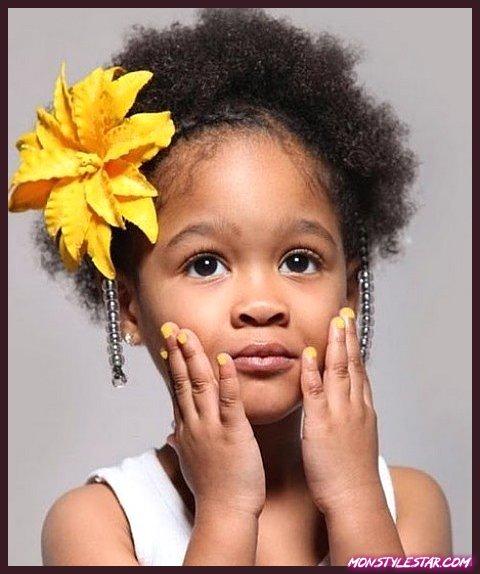 Photo de 15 coupes de cheveux et coiffures enfants noirs