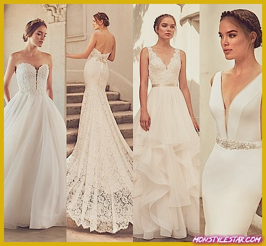 Photo de Élégamment chic printemps 2018 robes de mariée Paloma Blanca
