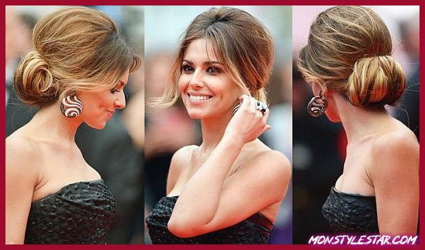 Volumized Low Chignon pour Prom Updos pour cheveux longs