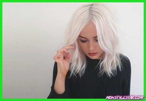 Types de blonde platine et de cheveux blancs