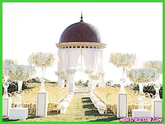 Photo de Mariage blanc glamour en Californie au complexe de Pelican Hill de Brandon Kidd Photography