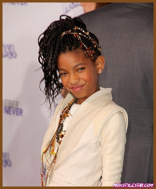 Photo de 20 Cornrows Simple Pour Enfants (Tresses Cornrows)