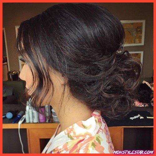 15 jolis chignons pour cheveux mi-longs
