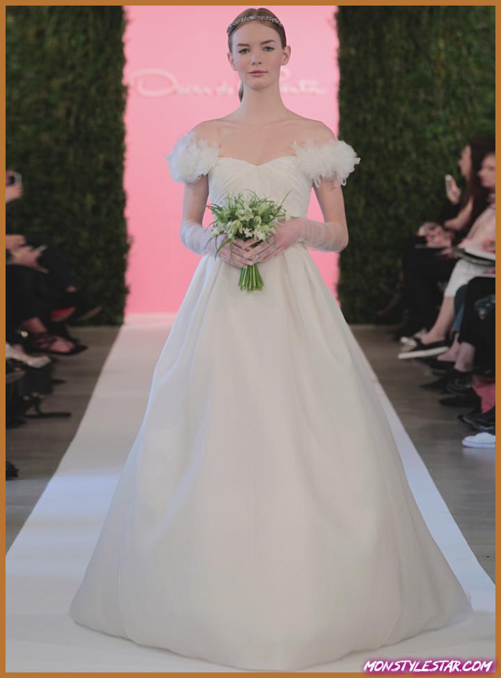 Flashback: Le rectifié des robes de épousée Médaille de la Renta