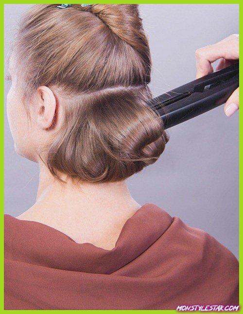 Comment Elego Updo pour les cheveux fins?