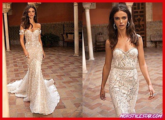 Photo de Robes de épousée modernes à la méthode de BERTA Amas Séville 2018