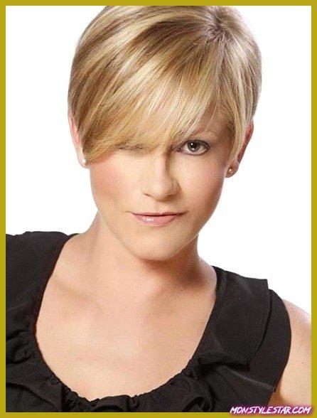 15 idées pour les mèches blondes aux cheveux courts