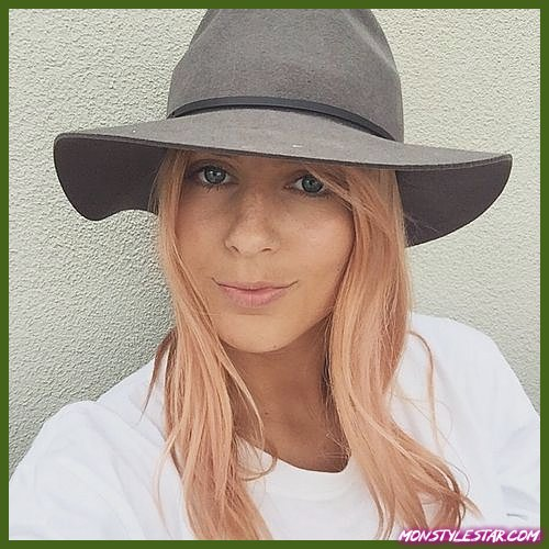 couleur or rose cheveux fraise blonde