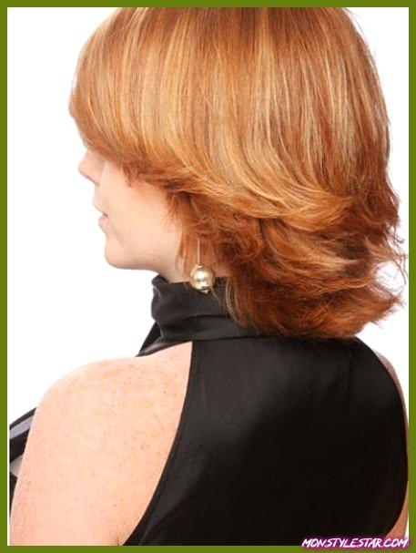 15 coupes de chevelure moyennes derrière les femmes