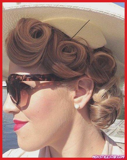 15 coiffures de pin up chic