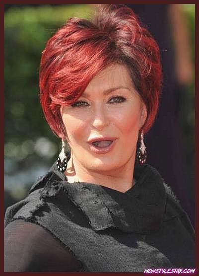 Photo de 15 courtes coiffures rouges hypnotiques