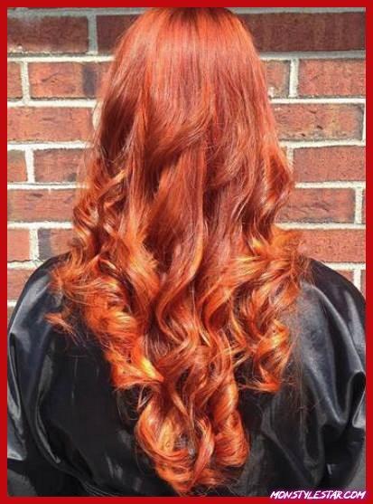 Fiery Ringlets- Nuances de cheveux roux