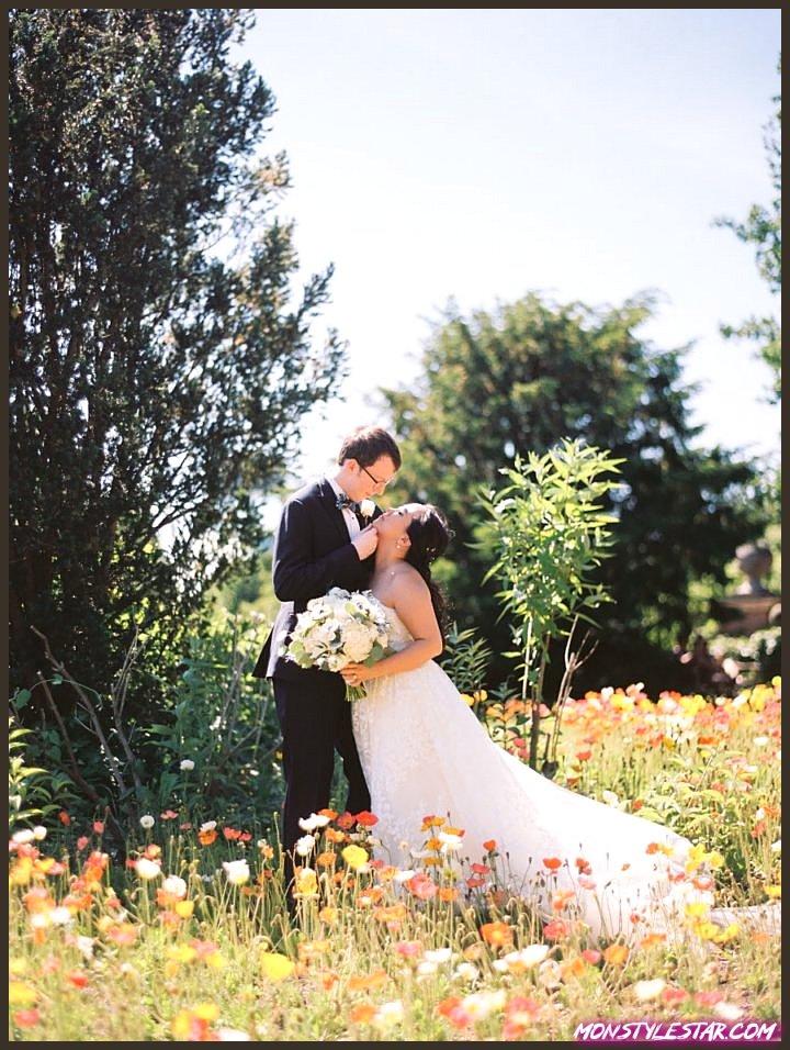 Mariage de charme sur l'Illinois sur le thème des Blue Beatles de Kristin La Voie Photography