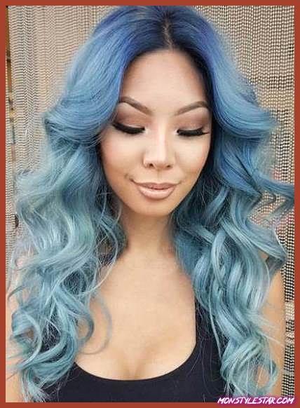 Photo de 15 coiffures bleues pour femmes