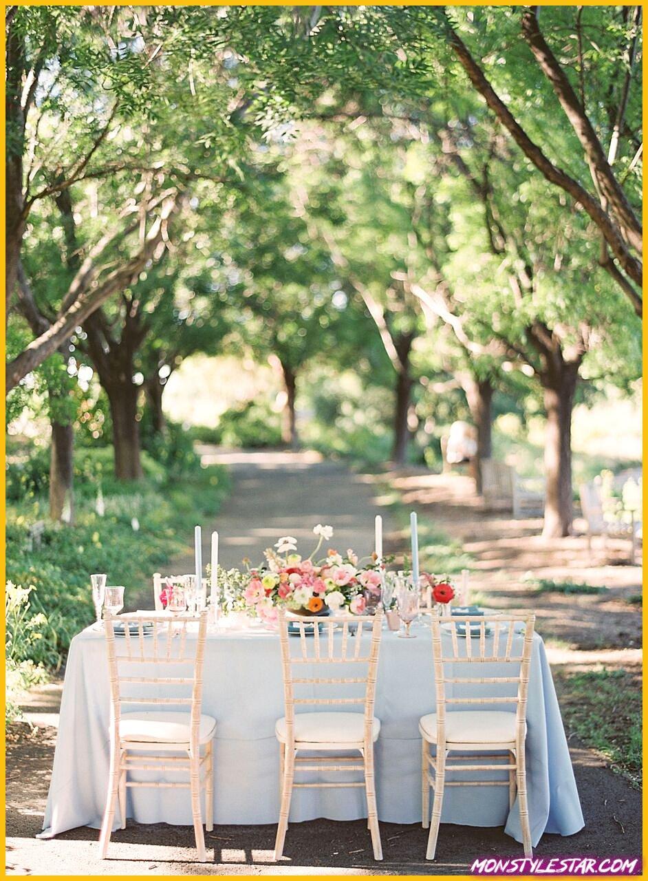 Inspiration de mariage au jardin de printemps bleu de Nathalie Cheng Photography