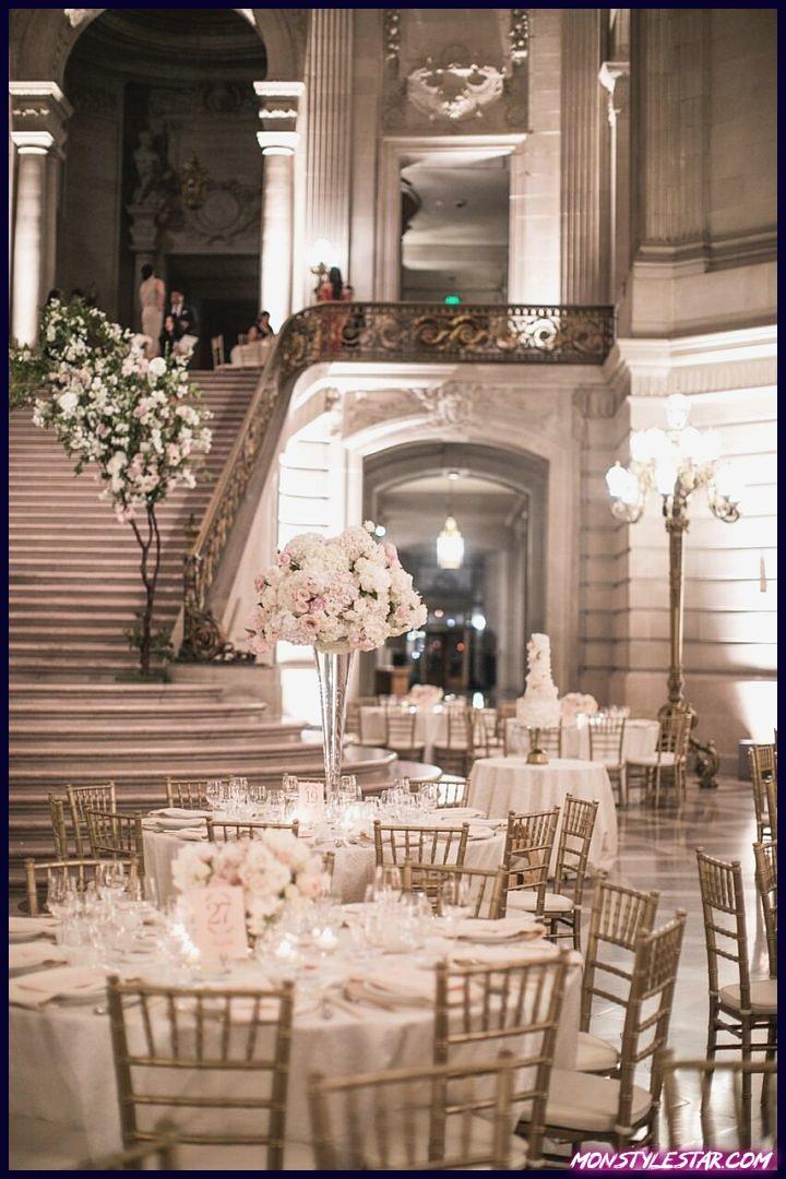Mariage glamour de San Francisco à l'hôtel de ville des studios Samuel Lippke