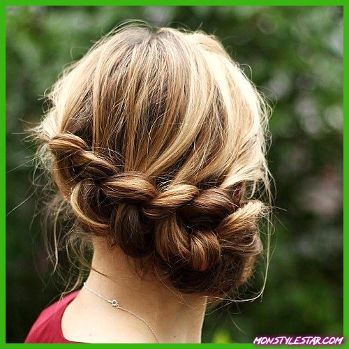15 coiffures uniques de chignon