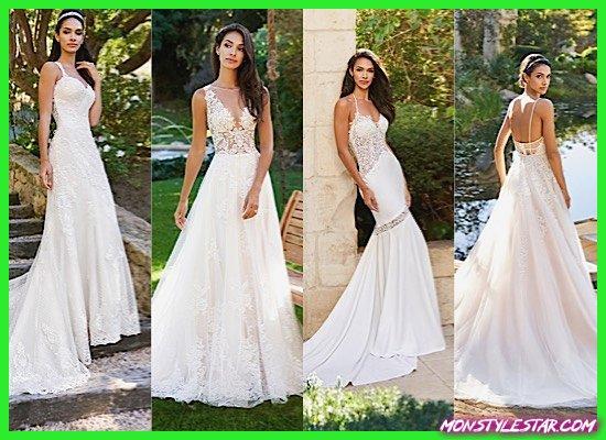 Photo de La collection 2018 Moonlight capture la romance avec des robes de mariée intemporelles