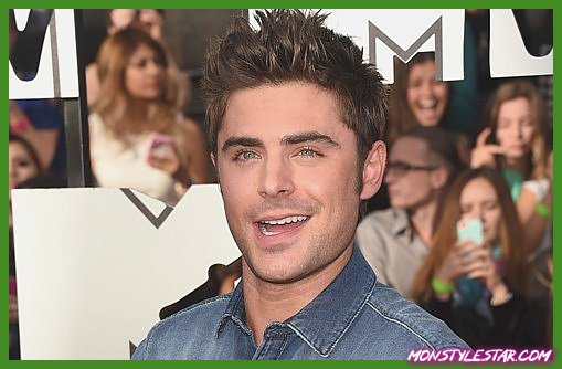 Photo de 15 coiffures Zac Efron