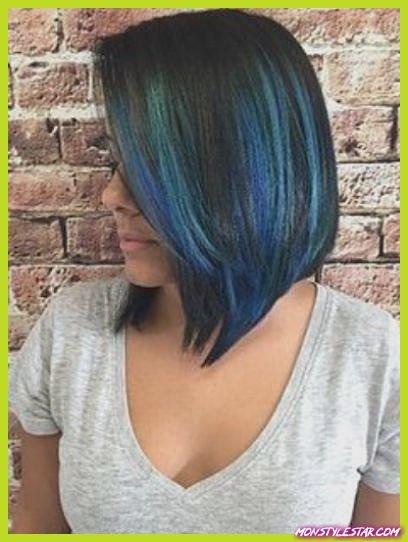 Photo de 15 coiffures bleu pastel à couper le souffle